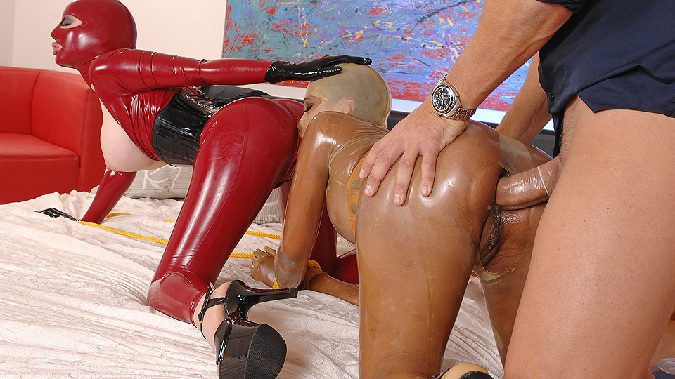 video sex anal latex
