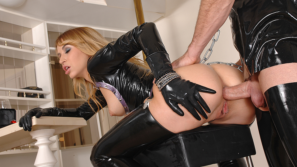black anal sex fetish latex