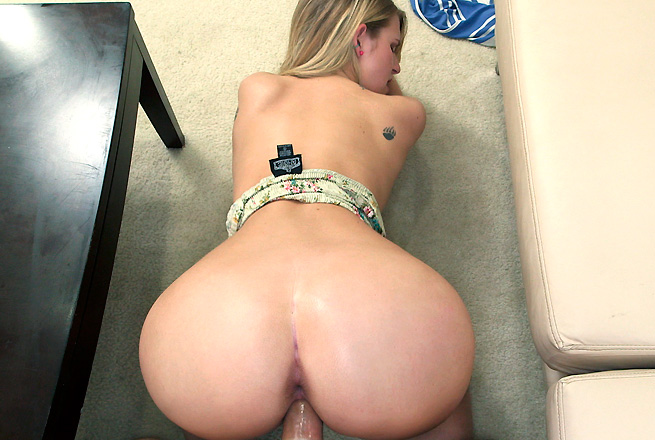 What, look Blonde bent over and fucked