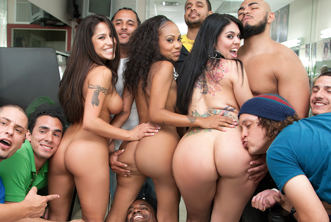 big latina orgy Super hot college orgy with some of the finest porn stars around · Amateur Big  ass Blonde Group Latina Orgy.