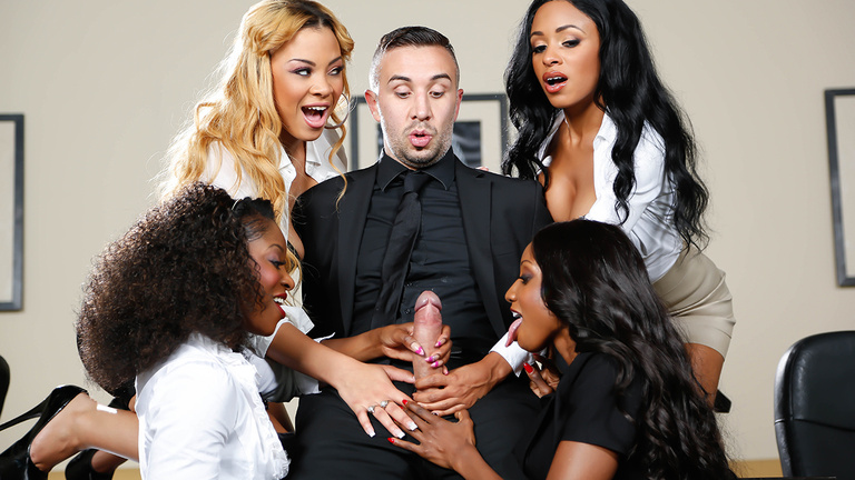 Office orgy anya ivy diamond jackson jade aspen-42744